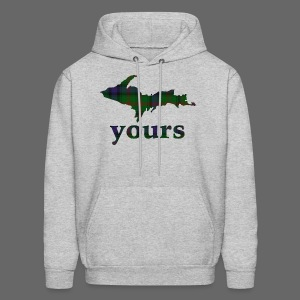 Up Yours Plaid - Men's Hoodie