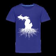 Baby & Toddler Shirts ~ Toddler Premium T-Shirt ~ Michigan Roots