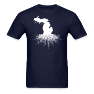 T-Shirts ~ Men's T-Shirt ~ Michigan Roots