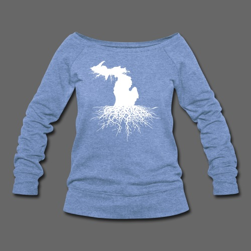 Michigan Roots - Women's Wideneck Sweatshirt