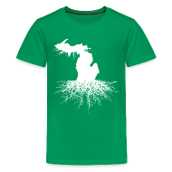 Kids' Shirts ~ Kids' Premium T-Shirt ~ Michigan Roots