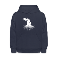 Sweatshirts ~ Kids' Hoodie ~ Michigan Roots