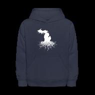 Sweatshirts ~ Kids' Hoodie ~ Michigan Roots