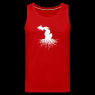 Sportswear ~ Men's Premium Tank ~ Michigan Roots
