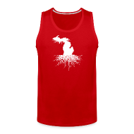 Sportswear ~ Men's Premium Tank ~ Michigan Roots