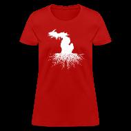 T-Shirts ~ Women's T-Shirt ~ Michigan Roots