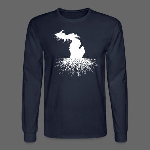 Michigan Roots - Men's Long Sleeve T-Shirt