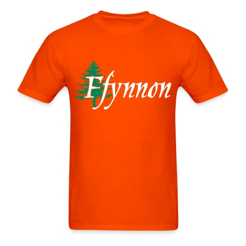 Ffynnon Michael Orange Tee - Men's T-Shirt