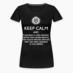 SUPERNATURAL KEEP CALM & SPEAK LATIN