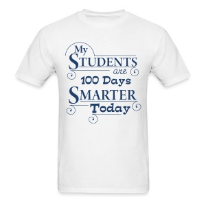 100th Day of School - Men's T-Shirt