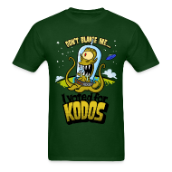 T-Shirts ~ Men's T-Shirt ~ The Simpsons: I Voted for Kodos (color)