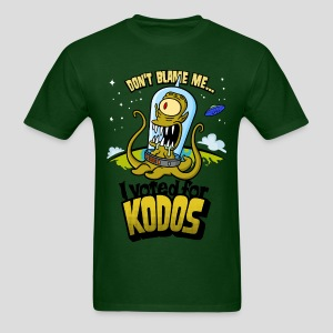 The Simpsons: I Voted for Kodos (color) - Men's T-Shirt