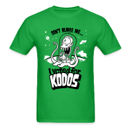 T-Shirts ~ Men's T-Shirt ~ The Simpsons: I Voted for Kodos