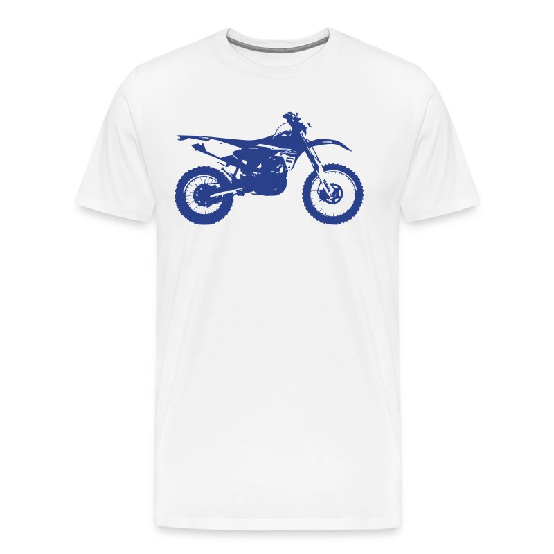 WRF BRRAAP ON - Blue Logo - Men's Premium T-Shirt