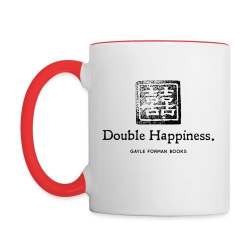 Double Happiness Mug - Contrast Coffee Mug