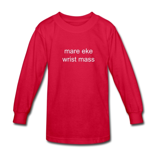 Merry Christmas kid's long sleeve T - Kids' Long Sleeve T-Shirt
