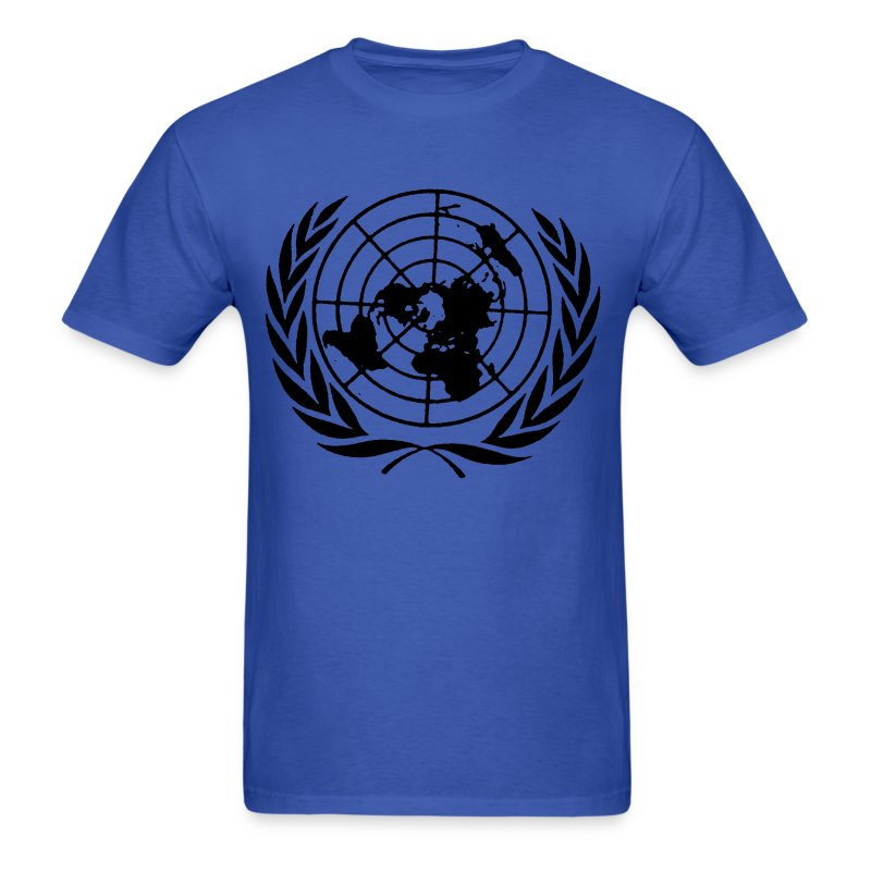 united nations un t shirt spreadshirt. Black Bedroom Furniture Sets. Home Design Ideas