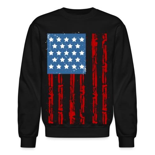Gun-us-down USA Fleece - Crewneck Sweatshirt