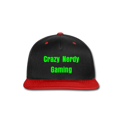 CrazyNerdyGaming Super Cap - Snap-back Baseball Cap