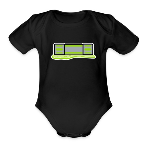 Mutagen Toddler One Piece - Organic Short Sleeve Baby Bodysuit
