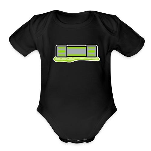 Mutagen Toddler One Piece - Organic Short Sleeve Baby Bodysuit