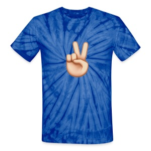 Blue Peace - Unisex Tie Dye T-Shirt