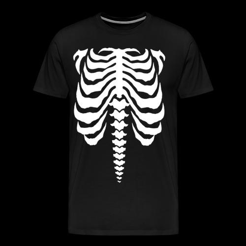 bones white - Men's Premium T-Shirt