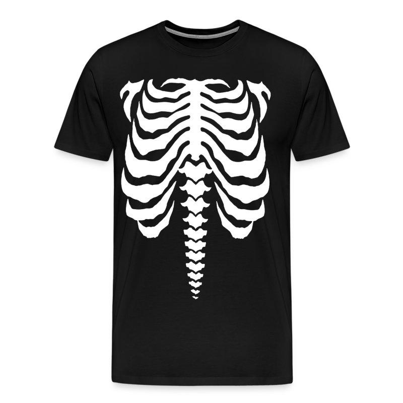 Bones White T Shirt Spreadshirt