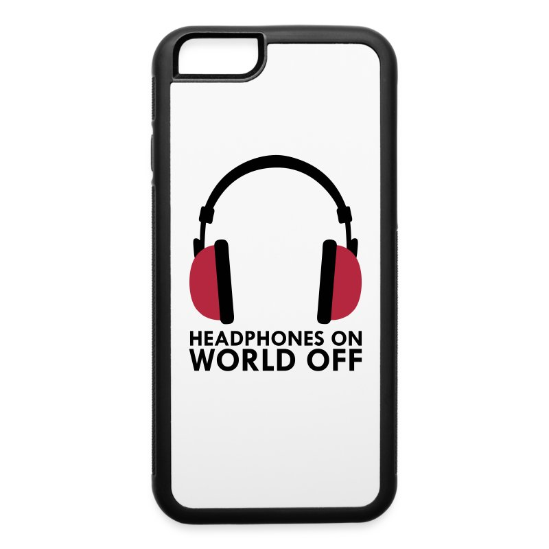how to turn off headphones on iphone headphones on world iphone spreadshirt 4856