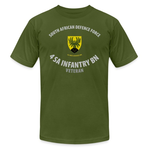 SADF 4 SA Infantry Battalion -  Hi Quality - Men's Fine Jersey T-Shirt