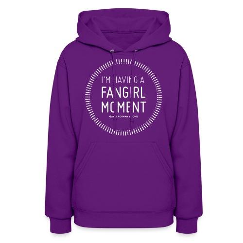 Fangirl Moment Circle Women's Hoodie - Women's Hoodie