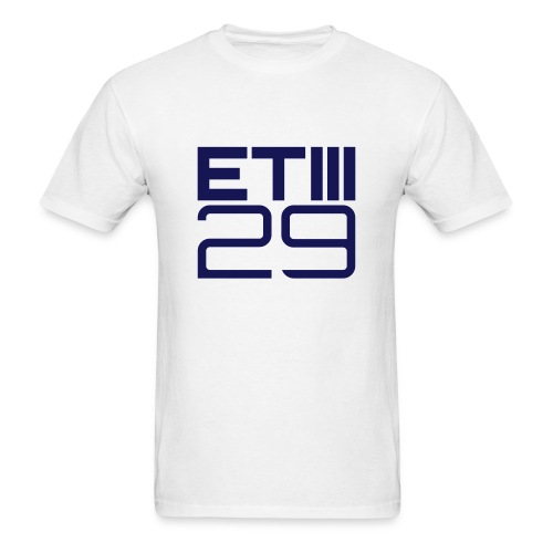 Easy Fit ETIII 29 (White/Navy) - Men's T-Shirt