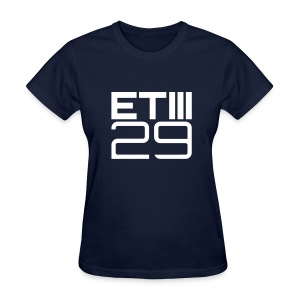 Easy Fit ETIII 29 (Navy/White) - Women's T-Shirt