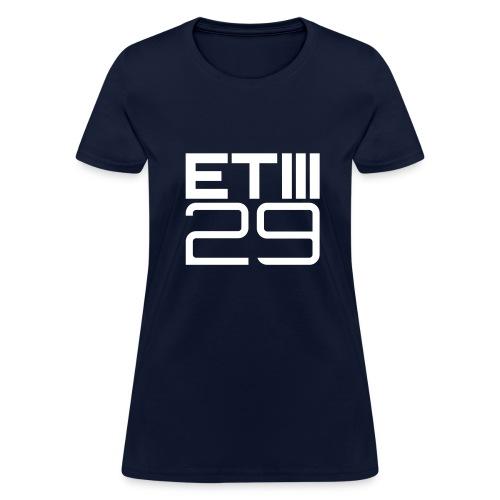 Easy Fit ETIII 29 (Navy/White) - Women's T-Shirt