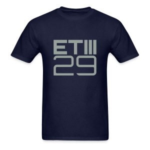 Easy Fit ETIII 29 (Navy/Gray) - Men's T-Shirt