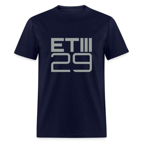 Easy Fit ETIII 29 (Navy/Gray) - Men's T-Shirt