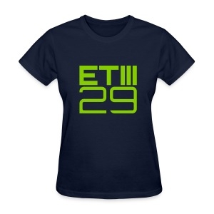 Easy Fit ETIII 29 (Navy/Green) - Women's T-Shirt