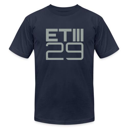 Slim Fit ETIII 29 (Navy/Gray) - Men's Fine Jersey T-Shirt
