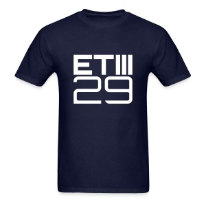 Easy Fit ETIII 29 (Navy/White) - Men's T-Shirt