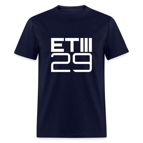 Easy Fit ETIII 29 (Navy/White) - Men's T-Shirt