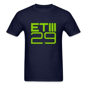 Easy Fit ETIII 29 (Navy/Green) - Men's T-Shirt