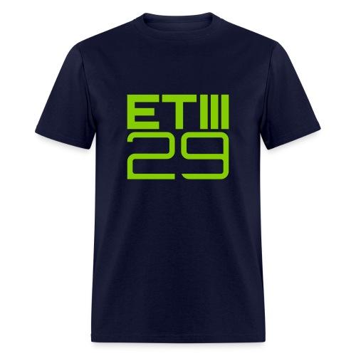 Easy Fit ETIII 29 (Navy/Green) - Men's T-Shirt
