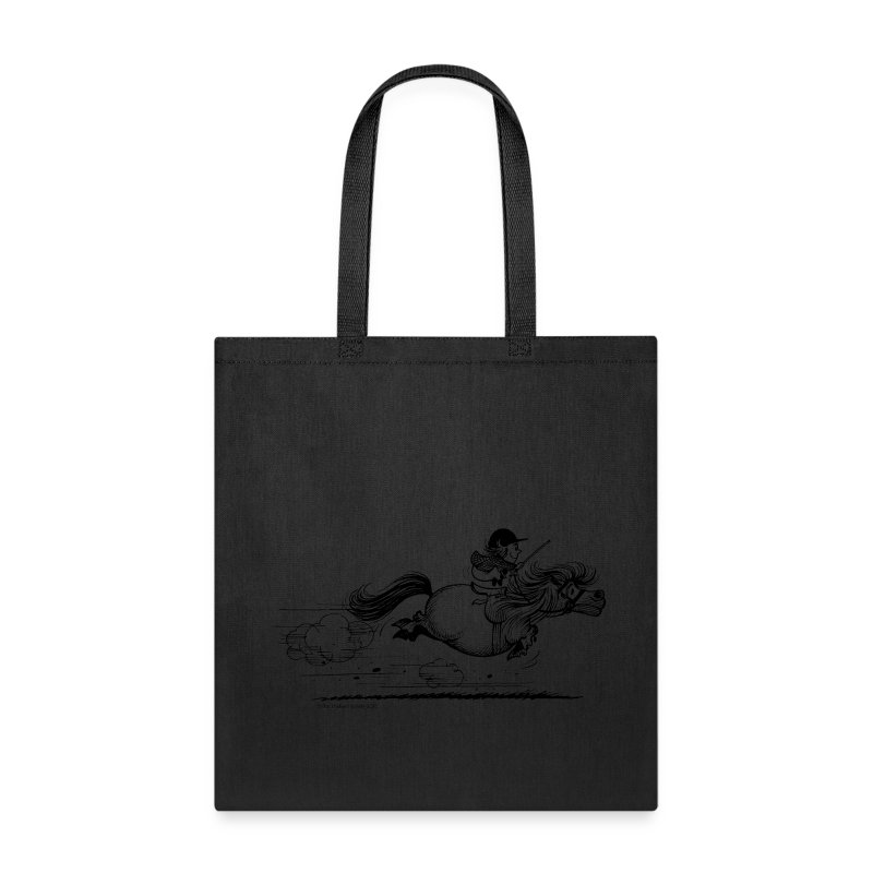 PonySprint Thelwell Cartoon - Tote Bag