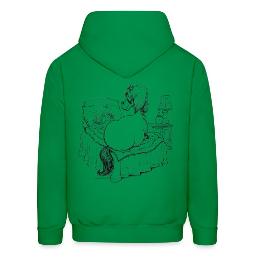 PonyBed Thelwell Cartoon - Men's Hoodie