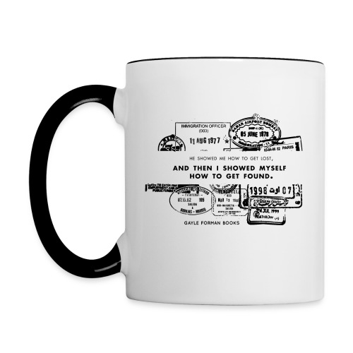 Lost and Found Mug - Contrast Coffee Mug
