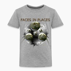 FACES IN PLACES Baby & Toddler Shirts