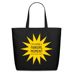 Fangirl Moment Star Tote Large - Eco-Friendly Cotton Tote