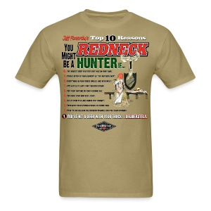 Jeff Foxworthy's Top 10 Reasons You Might Be a Redneck Hunter If... - Men's T-Shirt
