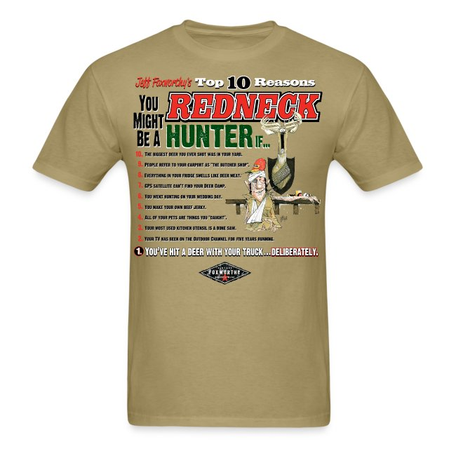 Jeff Foxworthy's Top 10 Reasons You Might Be a Redneck Hunter If...