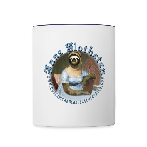 JANE SLOTHSTEN COFFEE MUG - Contrast Coffee Mug